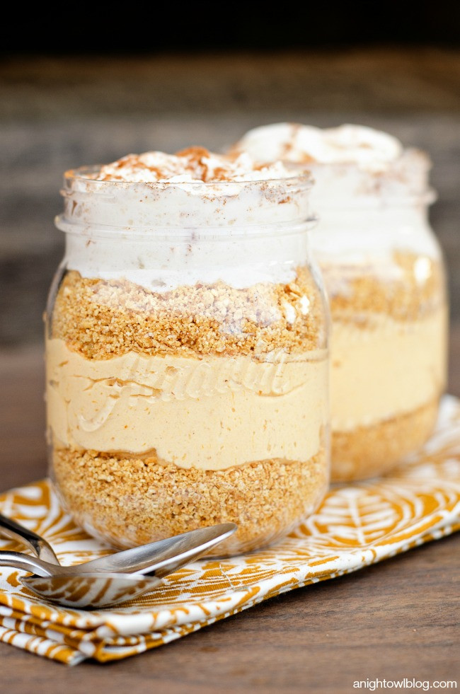 No Bake Fall Desserts  Easy No Bake Pumpkin Cheesecake