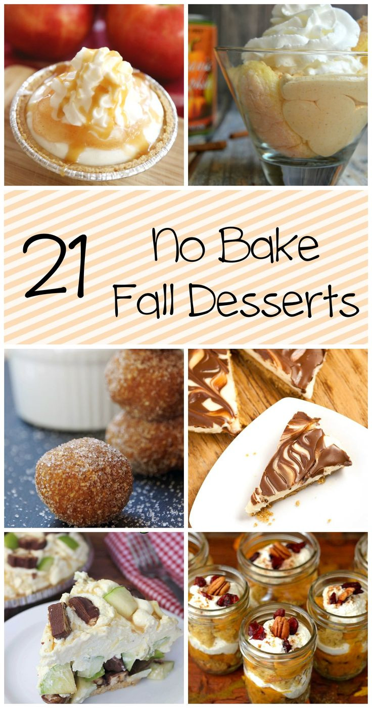 No Bake Fall Desserts  29 best images about Fall on Pinterest
