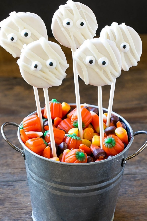 No Bake Halloween Cookies  11 Easy No Bake Halloween Treats for Your Spooky Shindig