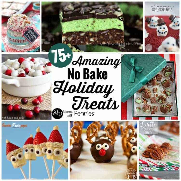 No Baking Christmas Treats  75 No Bake Holiday Treats Spend With Pennies