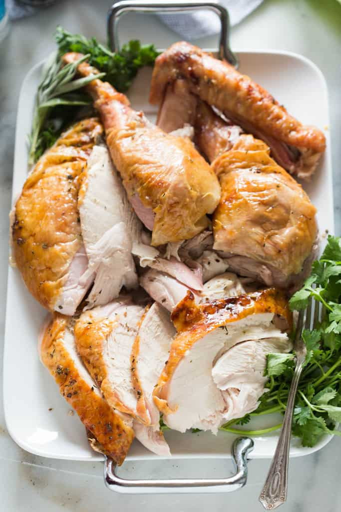 No Turkey Thanksgiving  Citrus and Herb Butter Roast Turkey The Best Blog Recipes