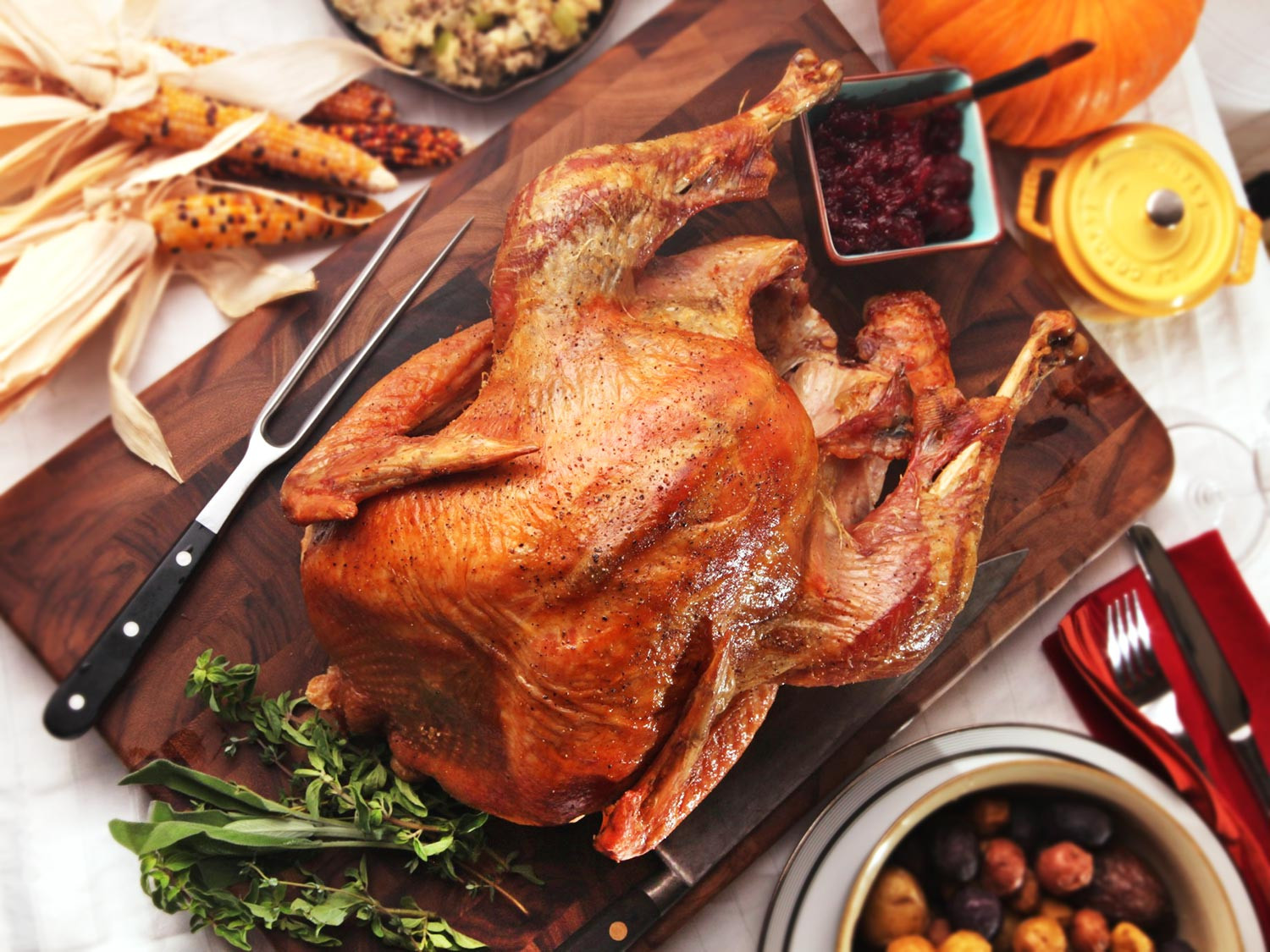 No Turkey Thanksgiving  The Food Lab Roasting Turkey Throw Out Your Roasting Pan