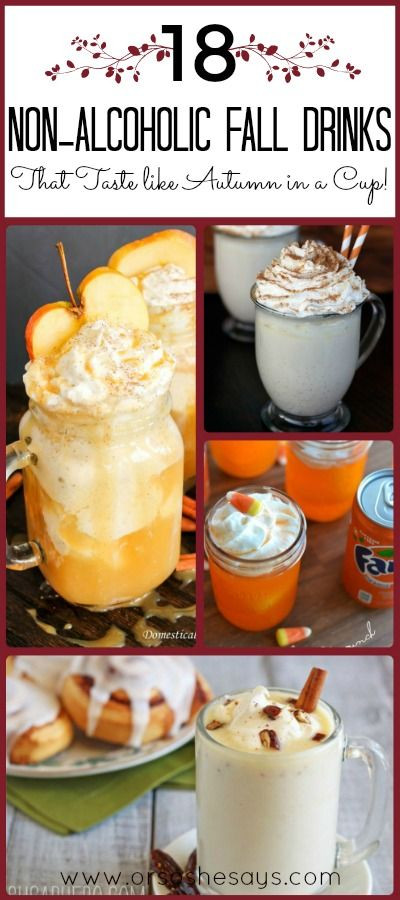 Non Alcoholic Drinks For Thanksgiving  18 Non Alcoholic Drinks That Taste like Autumn in a Cup