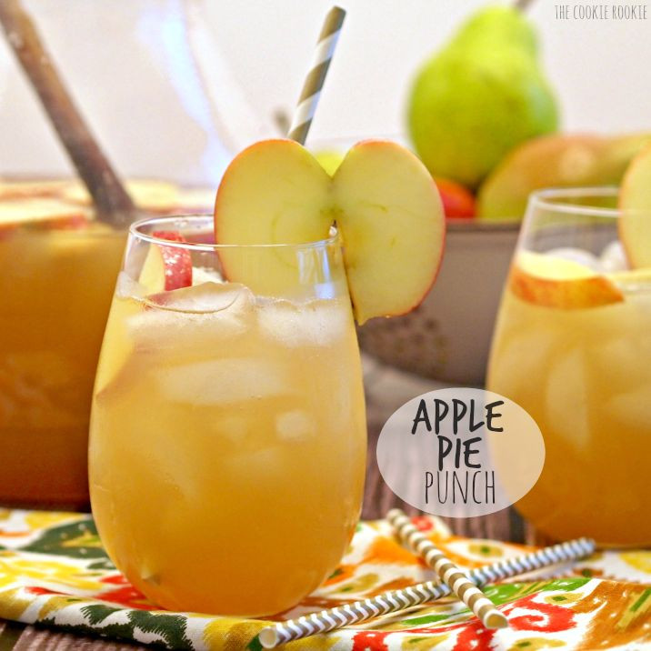 Non Alcoholic Drinks For Thanksgiving  Best 25 Fall punch recipes ideas on Pinterest