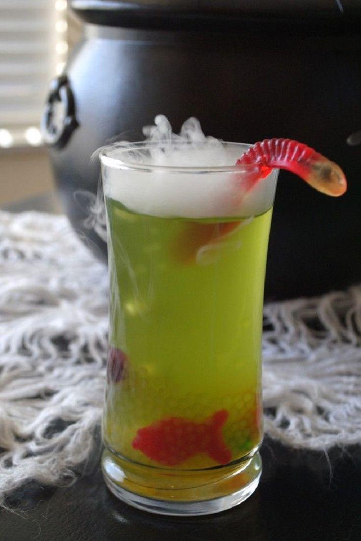 Non Alcoholic Halloween Drinks  1000 ideas about Halloween Drinks on Pinterest