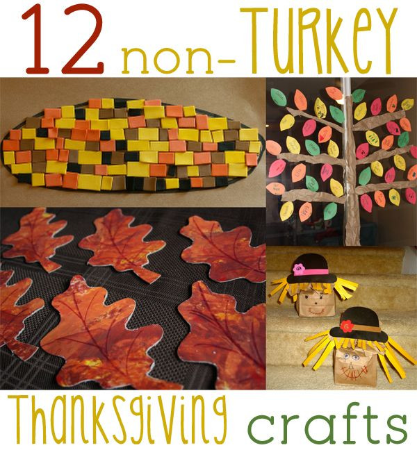 Non Turkey Thanksgiving  12 Non Turkey Thanksgiving Crafts for Kids to Make & Do