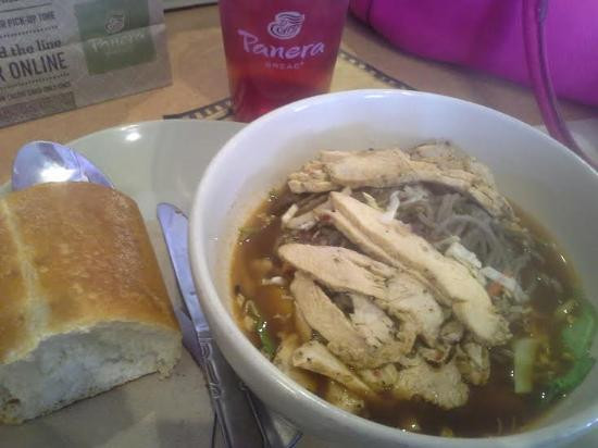 Noodles Menomonee Falls  Soba noodle bowl w chicken was rich with flavor and