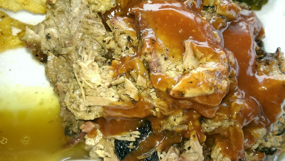 Noodles Menomonee Falls  First look at the brisket with a splash of sauce I wanted
