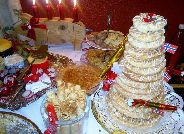 Norwegian Christmas Desserts  Norwegian Christmas Dessert Table