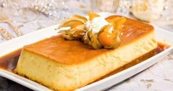 Norwegian Christmas Desserts  Karamell pudding Norwegian version of Custard dessert