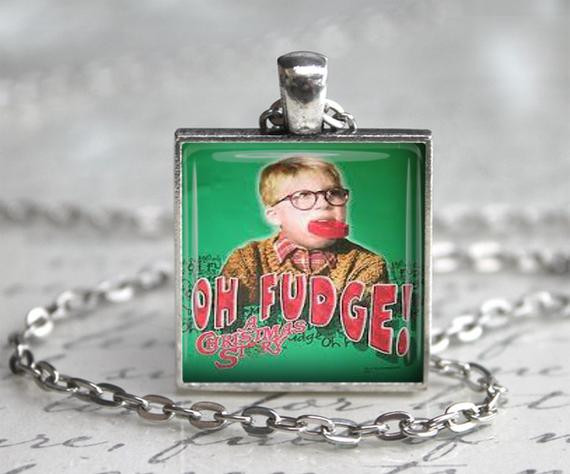 Oh Fudge Christmas Story  A Christmas Story Classic Ralphie OH by RetroWearExpressions