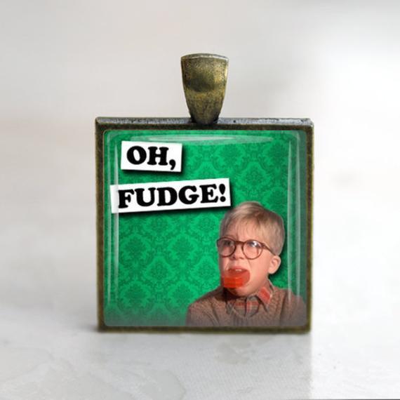 Oh Fudge Christmas Story  Items similar to Christmas Story Oh Fudge Glass Tile