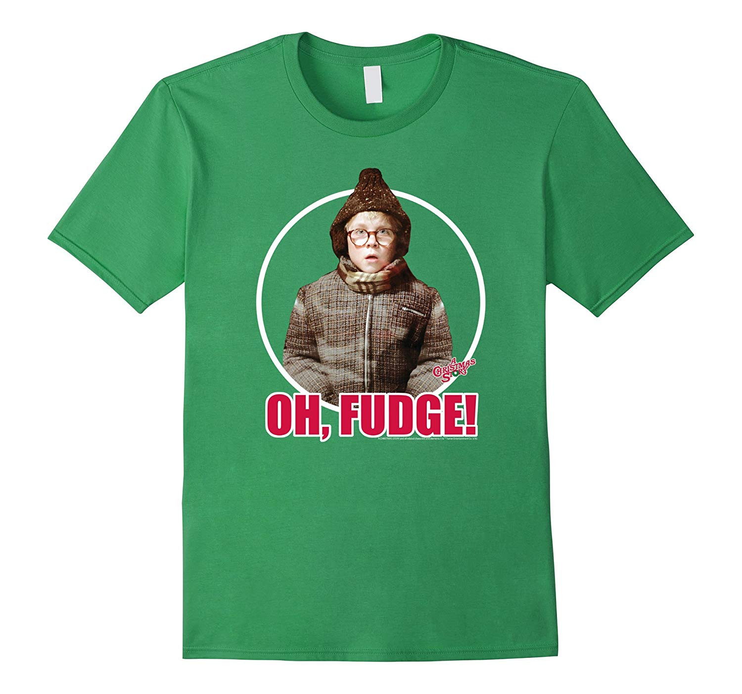 Oh Fudge Christmas Story  Ripple Junction A Christmas Story Oh Fudge T Shirt Art