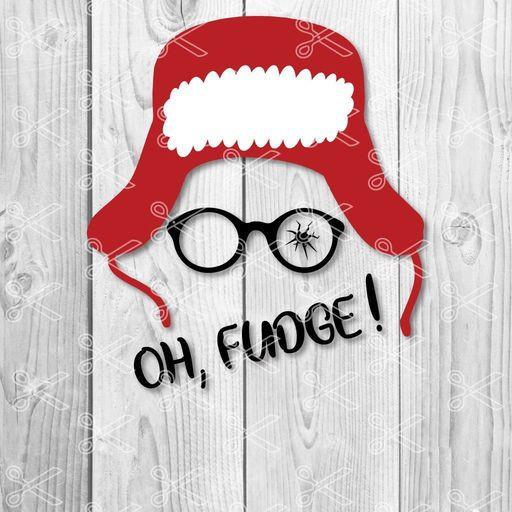 Oh Fudge Christmas Story  A Christmas Story Ralphie Broken Glasses Marvel ics