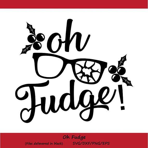 Oh Fudge Christmas Story  best Cricut images on Pinterest