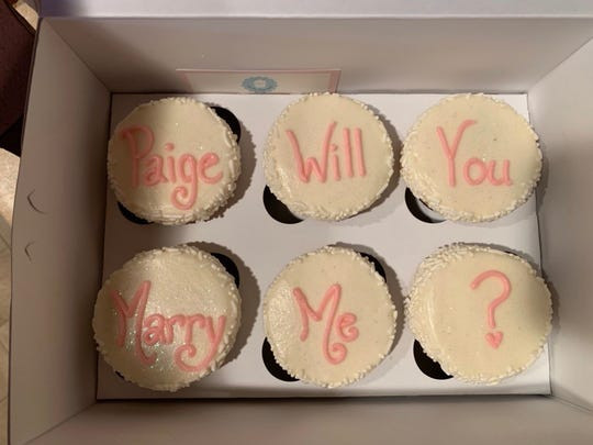 Oh My Cupcakes Sioux Falls  I was like oh man Cupcake proposal surprises Sioux