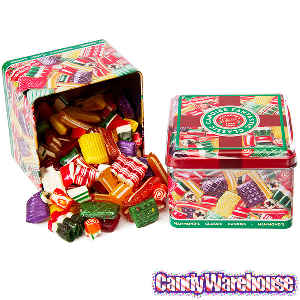Old Fashioned Christmas Candy Mix  Old Time Christmas Mix Candy 16 Ounce Tin