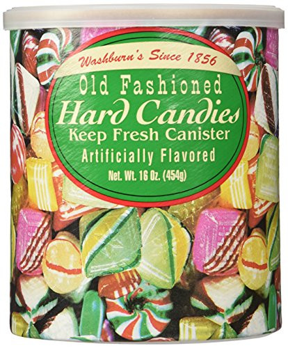 Old Fashioned Christmas Candy Mix  Amazon The Original Christmas Hard Can s Washburn