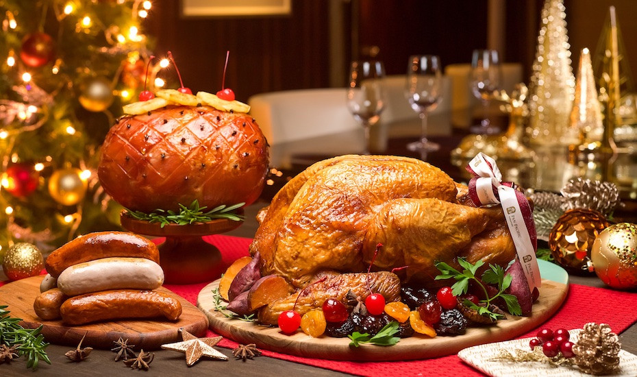 Order Christmas Dinner  Christmas turkey in Singapore Order a perfectly roasted