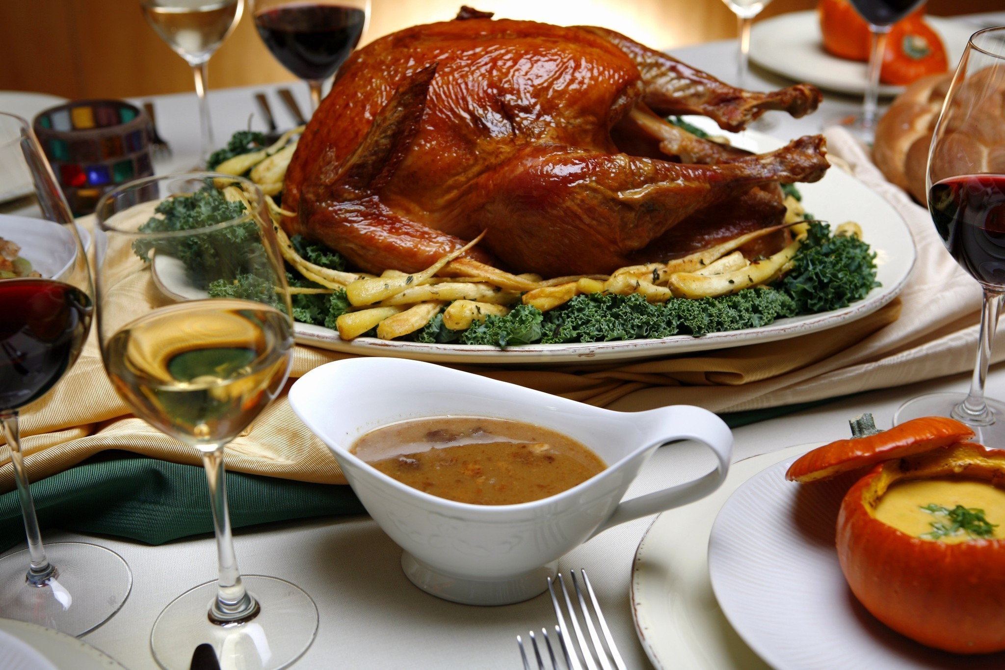 Order Cooked Turkey For Thanksgiving  To go and dine in options in L A for those saying no no