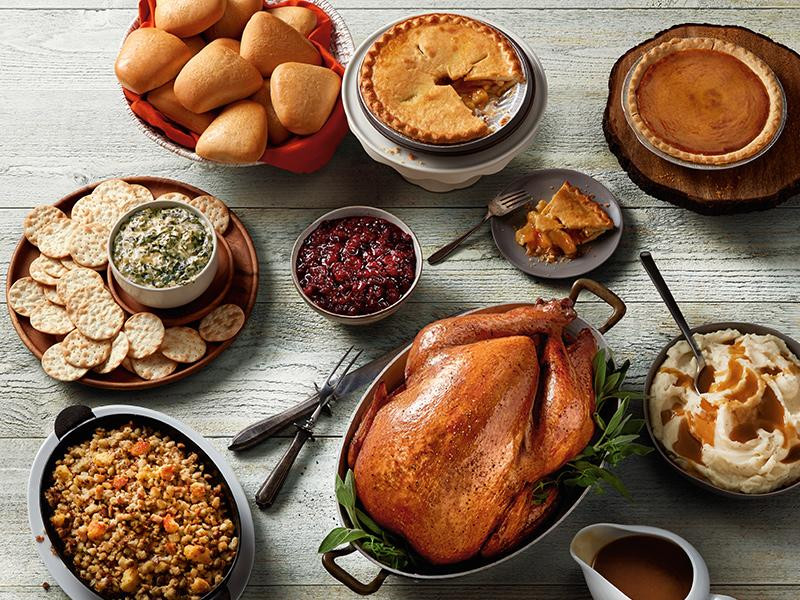 Order Cooked Turkey For Thanksgiving  Whole Roasted Turkey Dinner for 12