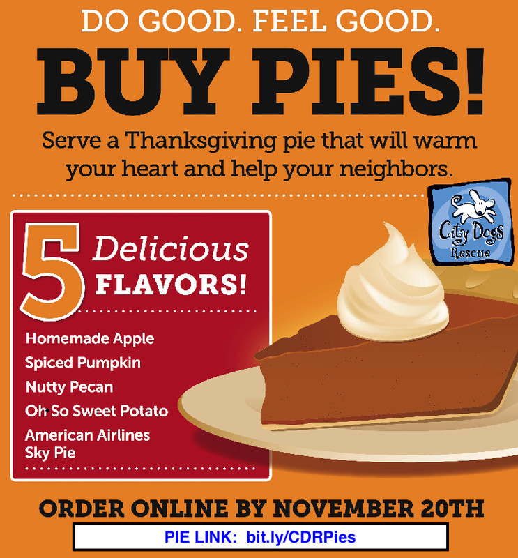 Order Pies For Thanksgiving  It s Back Time to Order Thanksgiving Pies City Dogs