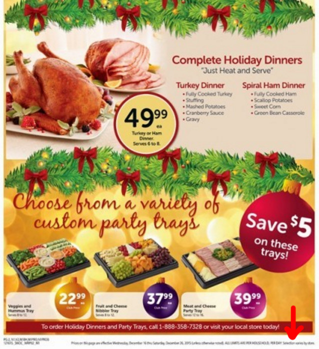 Order Thanksgiving Dinner Safeway  safeway turkey dinner thanksgiving 2018