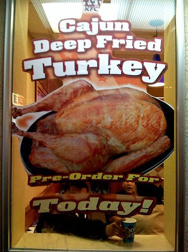 Order Turkey For Thanksgiving  Not bad meaning bad but bad meaning good Frieday
