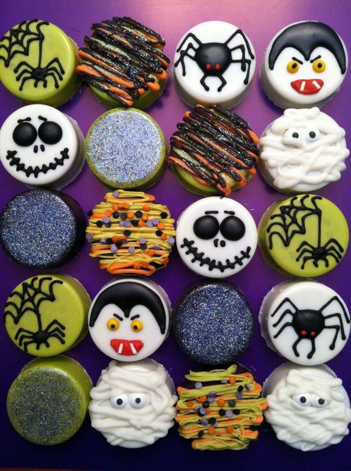 Oreo Halloween Cookies  25 bästa Halloween oreos idéerna på Pinterest
