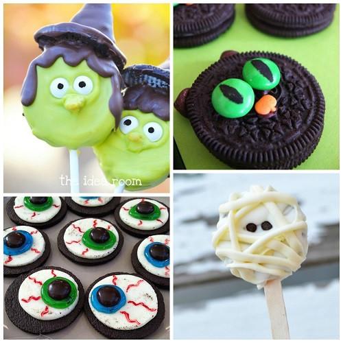 Oreo Halloween Cookies  Fun Oreo Halloween Treats to Make Crafty Morning