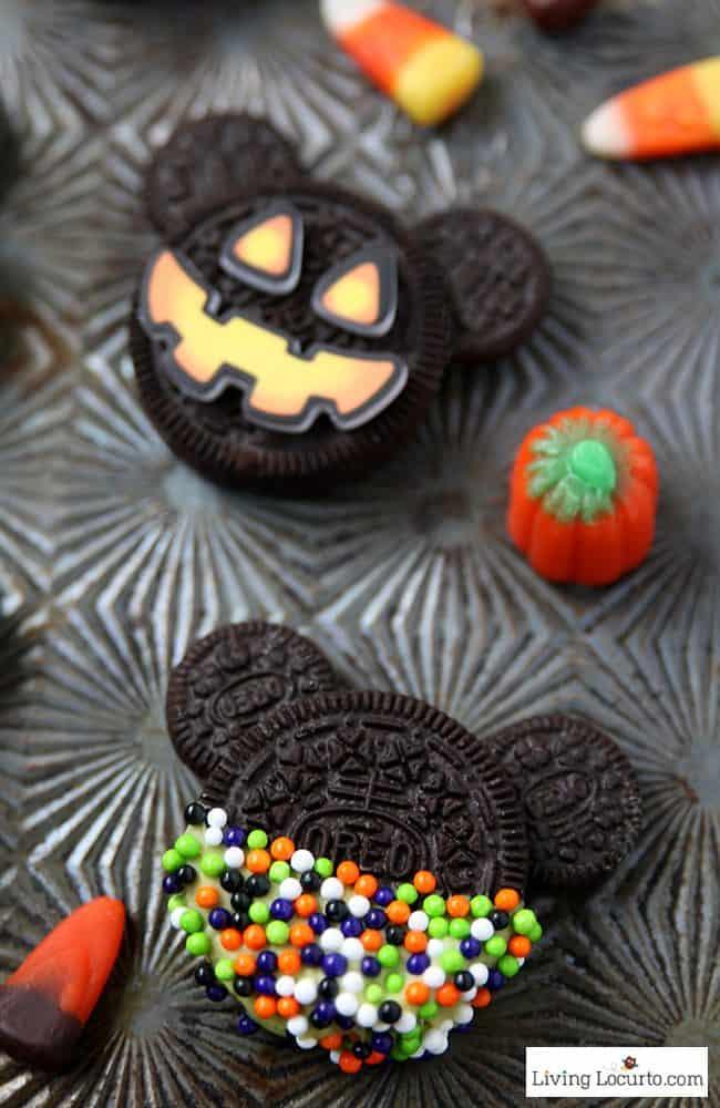 Oreo Halloween Cookies  Mickey Mouse Halloween Cookies No Bake Oreo Treats