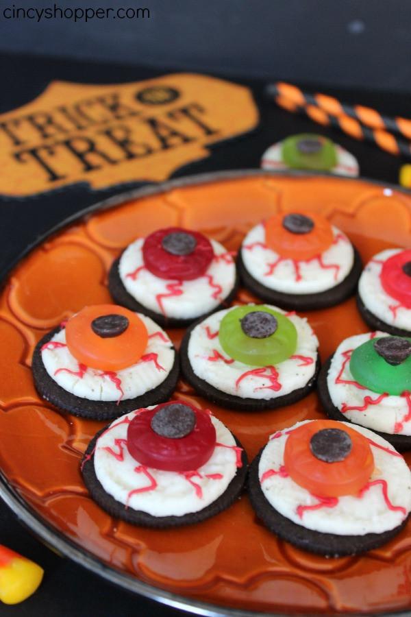 Oreo Halloween Cookies  Oreo Eyeballs Halloween Treats CincyShopper