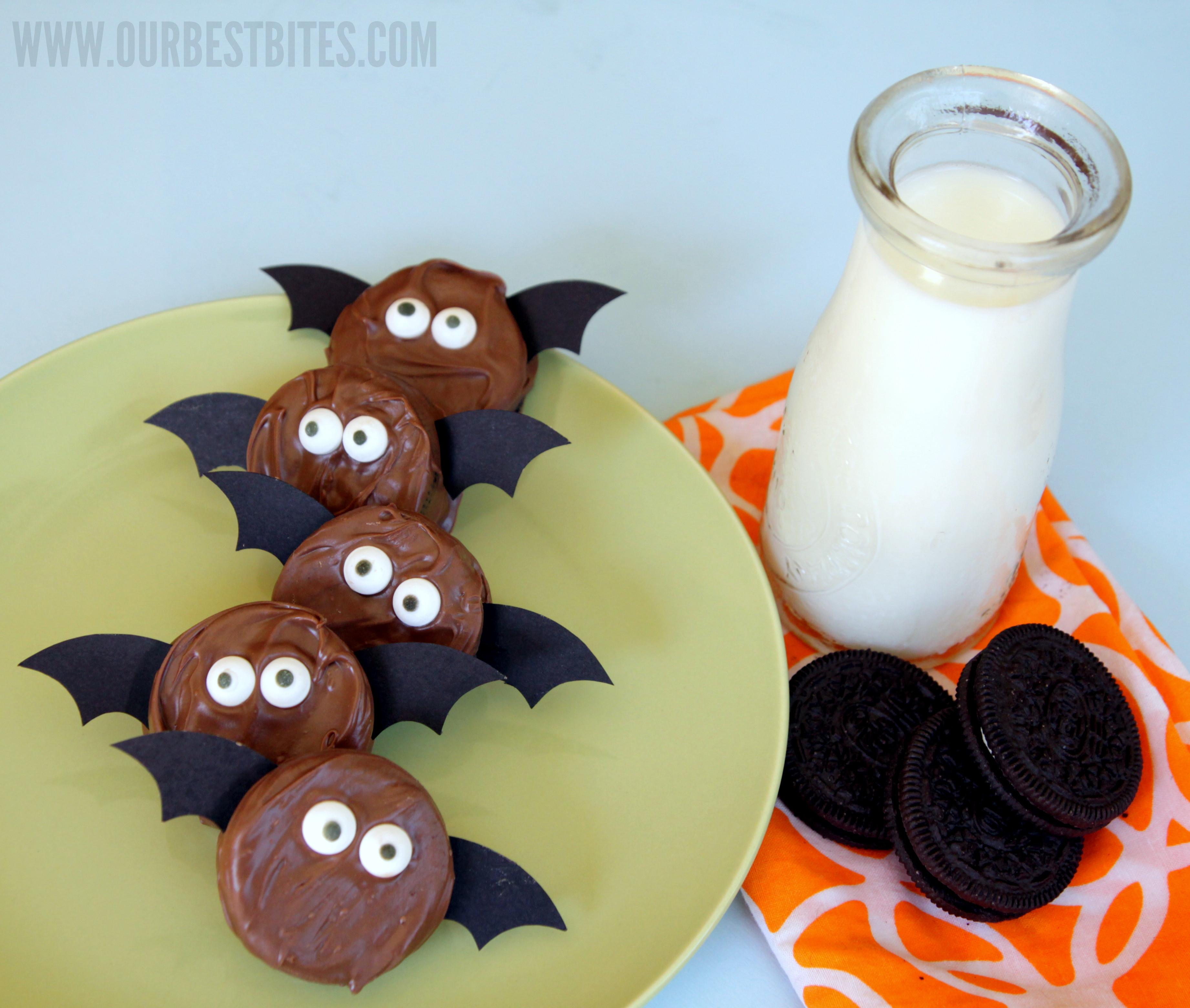 Oreo Halloween Cookies  Not So Spooky Oreo Bats