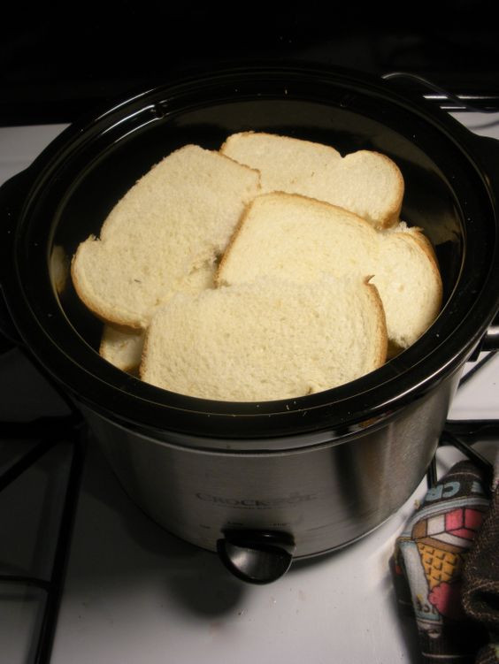 Overnight Crock Pot French Toast Great For Christmas Morning  Brunch Crock Pot French Toast
