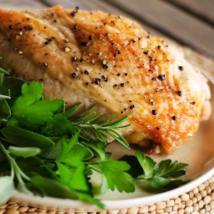 Paleo Thanksgiving Dinner  Easy Roast Turkey Breast Recipe