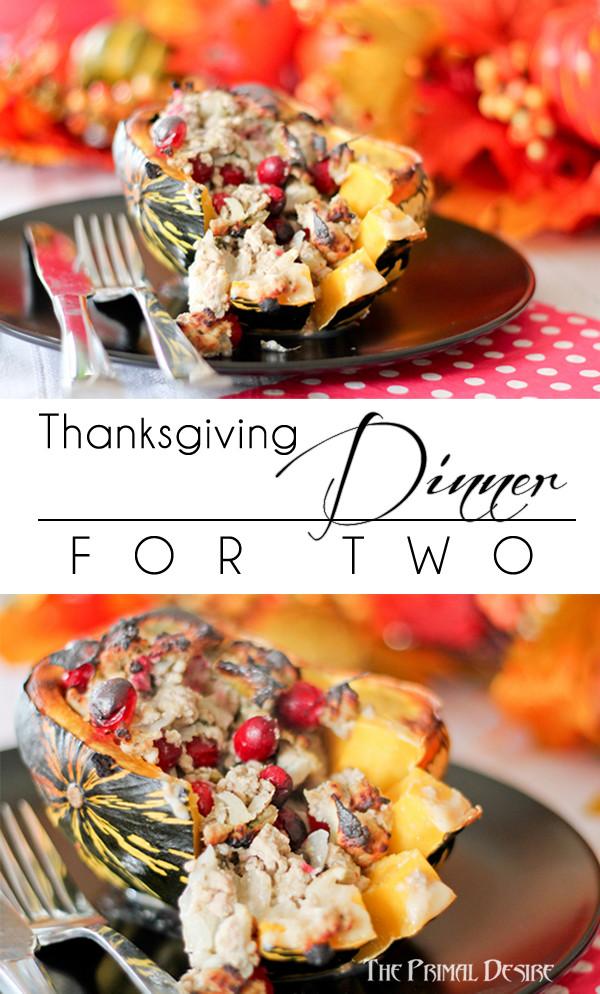 Paleo Thanksgiving Dinner  Paleo Thanksgiving for Two The Primal Desire