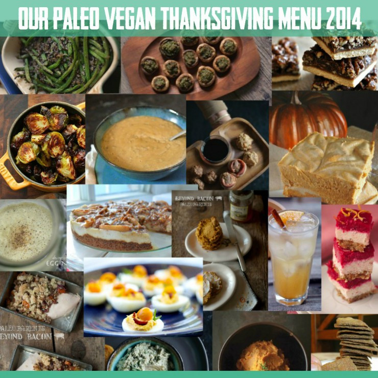 Paleo Thanksgiving Menu  Thankful for Real Life Paleo SNEAK PEEK Recipes & So Much