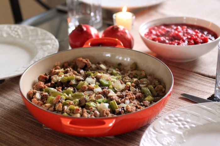Paleo Thanksgiving Stuffing  Thanksgiving or Christmas Paleo Stuffing Part I • Oh