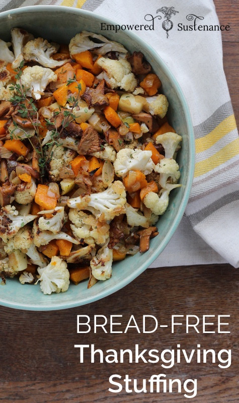 Paleo Thanksgiving Stuffing  Bread Free Paleo Holiday Stuffing Recipe