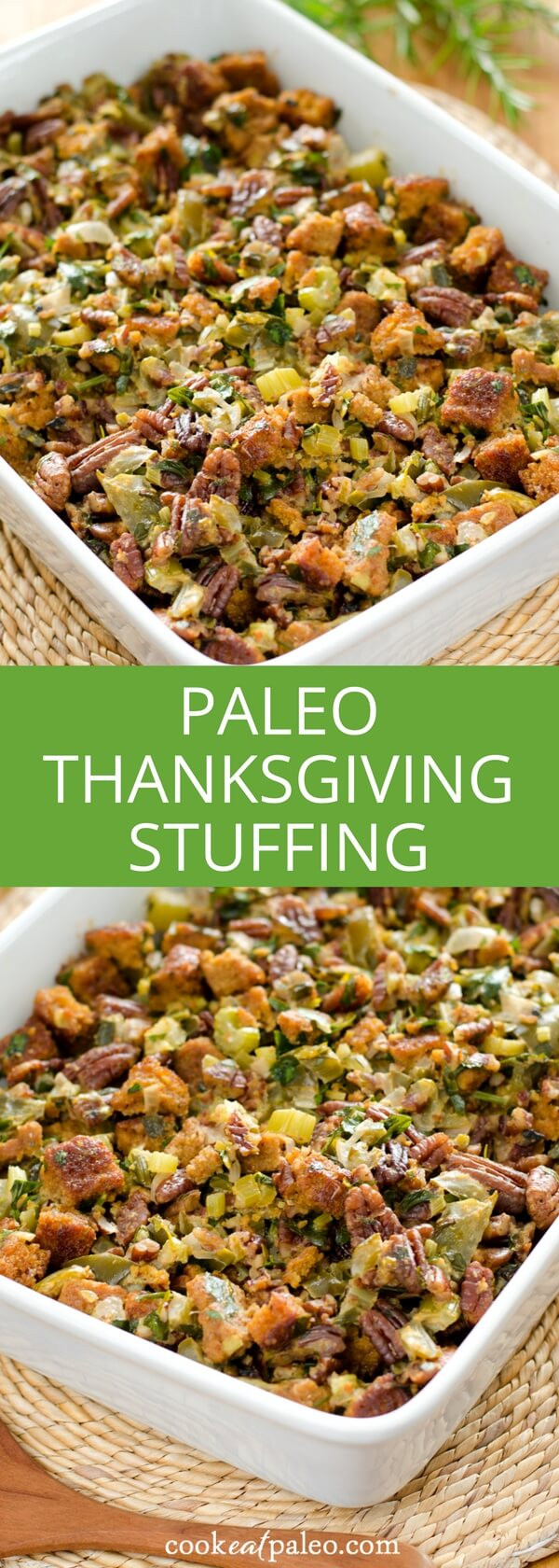 Paleo Thanksgiving Stuffing  Paleo Cornbread Stuffing Gluten Free Grain Free
