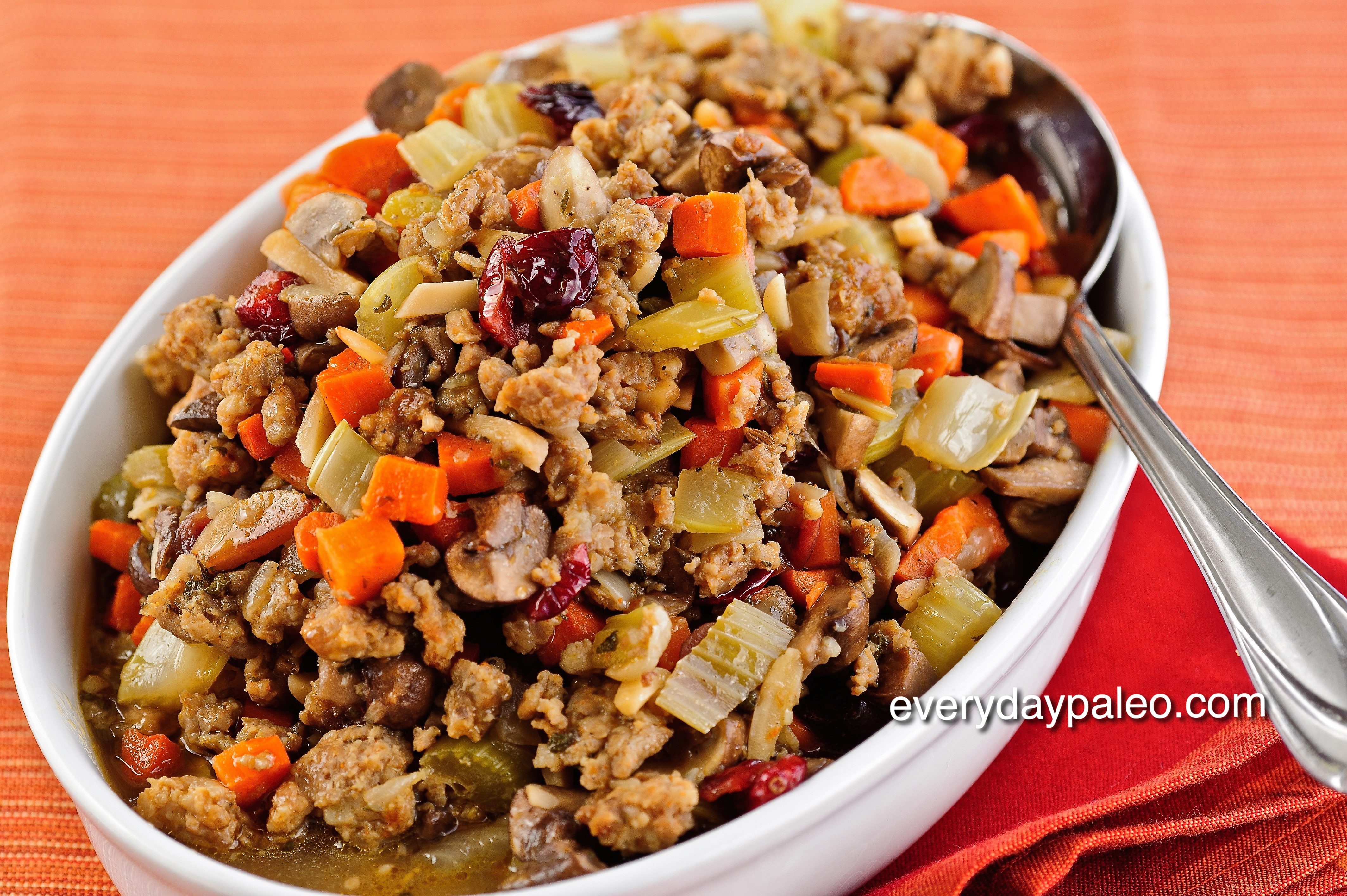 Paleo Thanksgiving Stuffing  Dinner