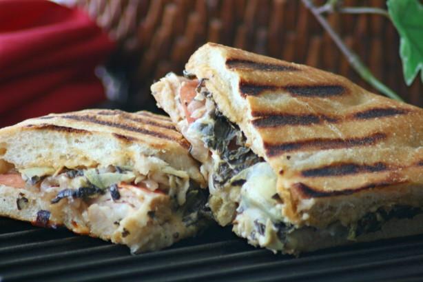 Panera Bread Thanksgiving  Panera Breads Turkey Artichoke Panini Recipe Food