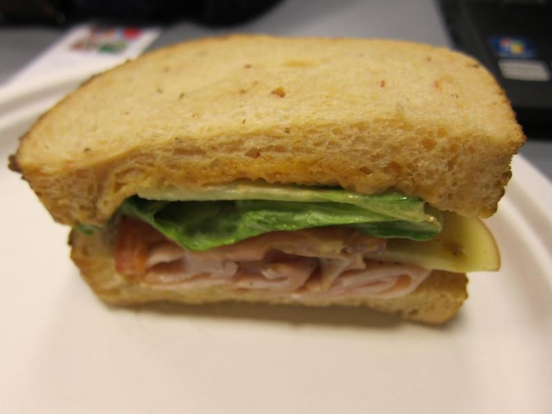 Panera Bread Thanksgiving  Review Panera Bread Bacon Turkey Bravo Sandwich
