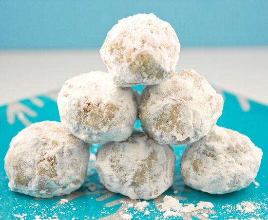 Pecan Balls Christmas Cookies  Sugared Pecan Balls — Pip and Ebby