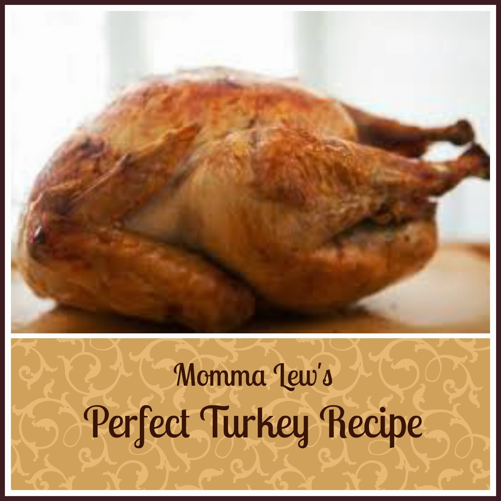 Perfect Thanksgiving Turkey  Perfect Thanksgiving Turkey Recipe