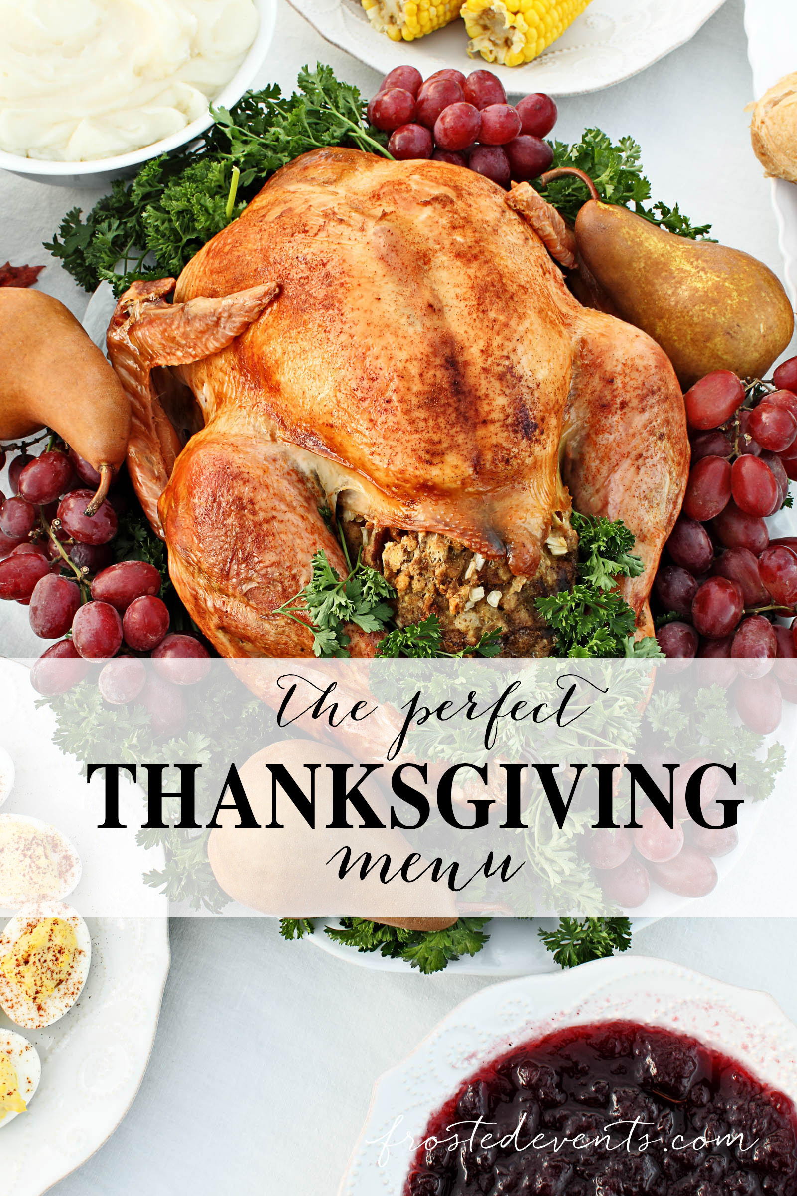 Perfect Thanksgiving Turkey  Thanksgiving Dinner Menu Ideas What to Serve