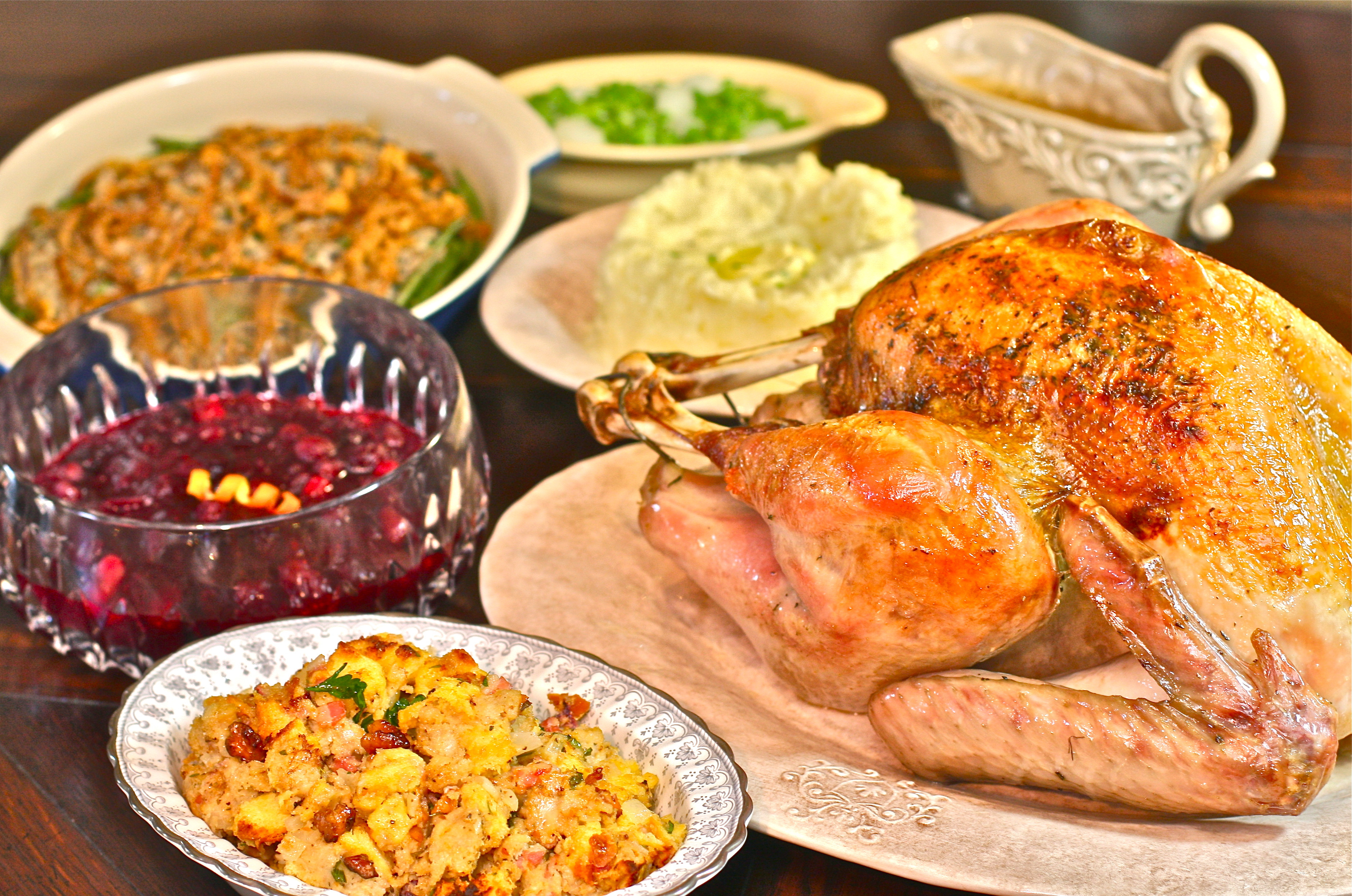 Photos Of Thanksgiving Dinners  Simple Holiday Event Ideas