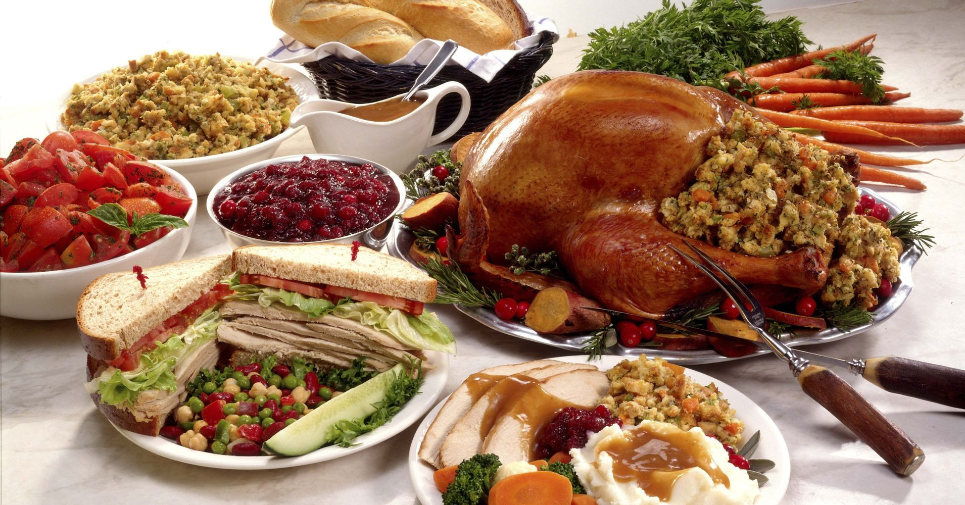Photos Of Thanksgiving Dinners  Yes Thanksgiving Dinner Really Could Trigger A Heart
