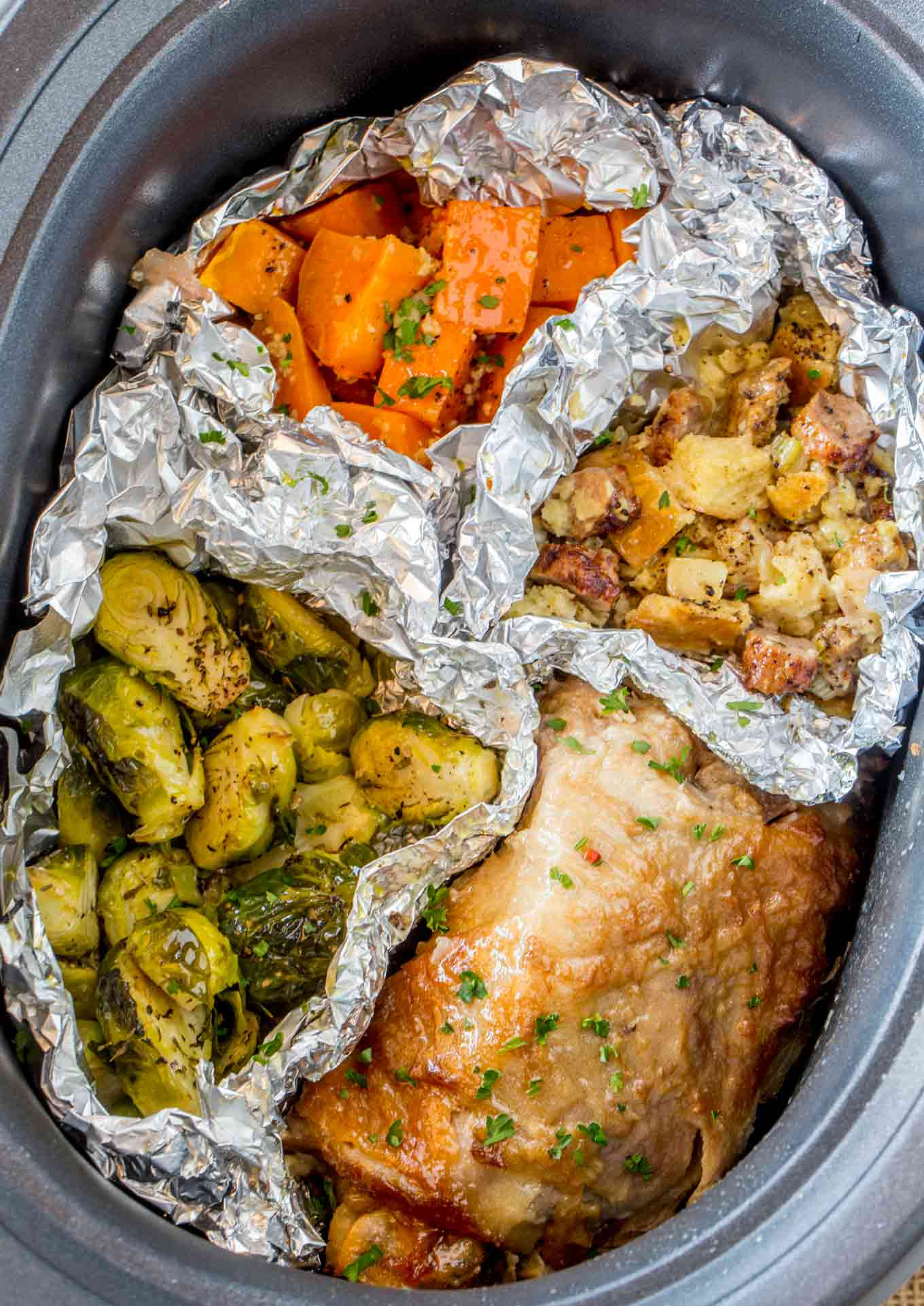 Photos Of Thanksgiving Dinners  Slow Cooker Thanksgiving Dinner for 2 Dinner then