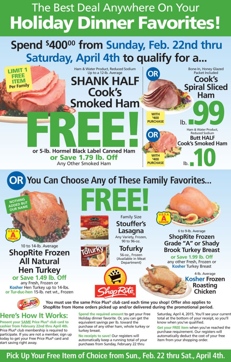 Pick N Save Thanksgiving Dinners  FREE Holiday Dinner Favorite beginning Sunday April 22